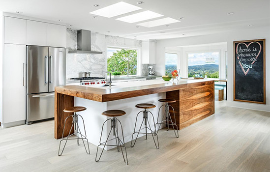 The Natural, Classic Appeal Of Wood Countertops
