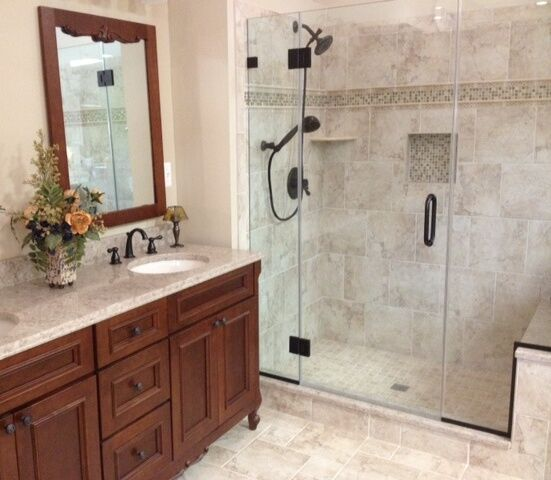Bathroom Remodel Give Your Bathroom An Updated Spacious Feel Enchanting Updated Bathroom Designs