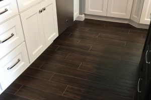Ceramic Tile - Out With The Old And In With The New Flooring