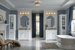 Bowie Bathroom Remodeling - Should Your Fixtures Go On Your Walls?